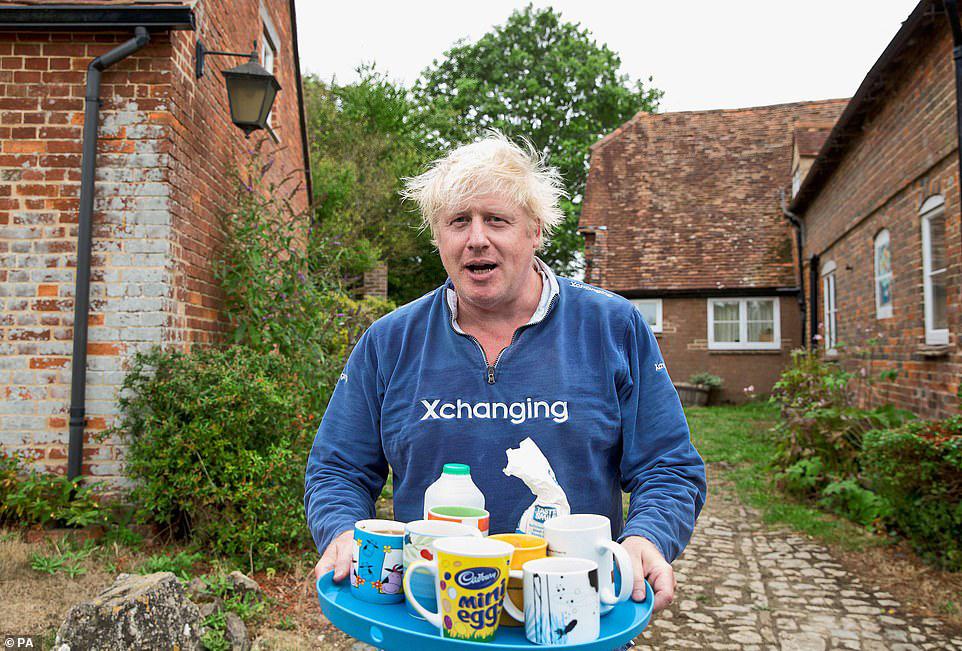 בוריס ג'ונסון משכיר בית כפרי  אוקספורדשייר ליד אוקספורד 3