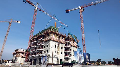 פרויקט בנייה, צילום: דנה קופל