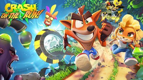 מתאים בול למובייל, מתוך Crash Bandicoot: On the Run