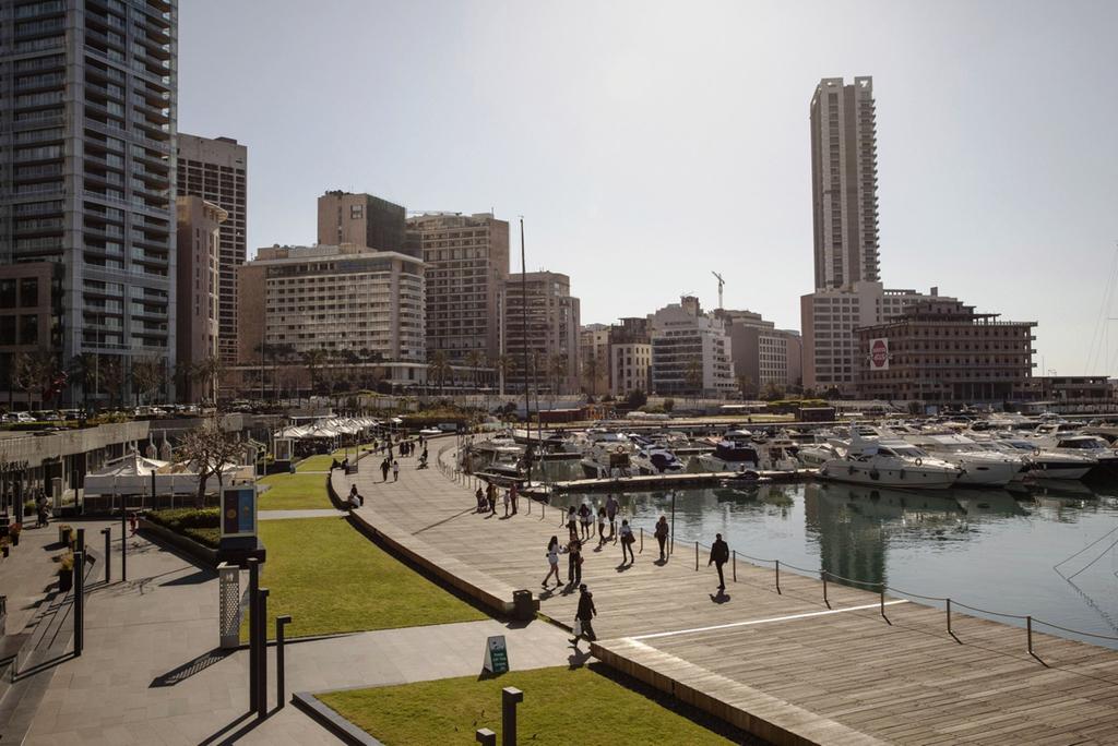 ביירות מפרץ זייתוני לבנון יאכטות אפריל 2021