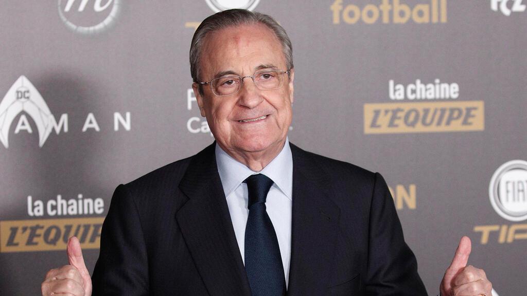 נשיא ריאל מדריד פלורנטינו פרס