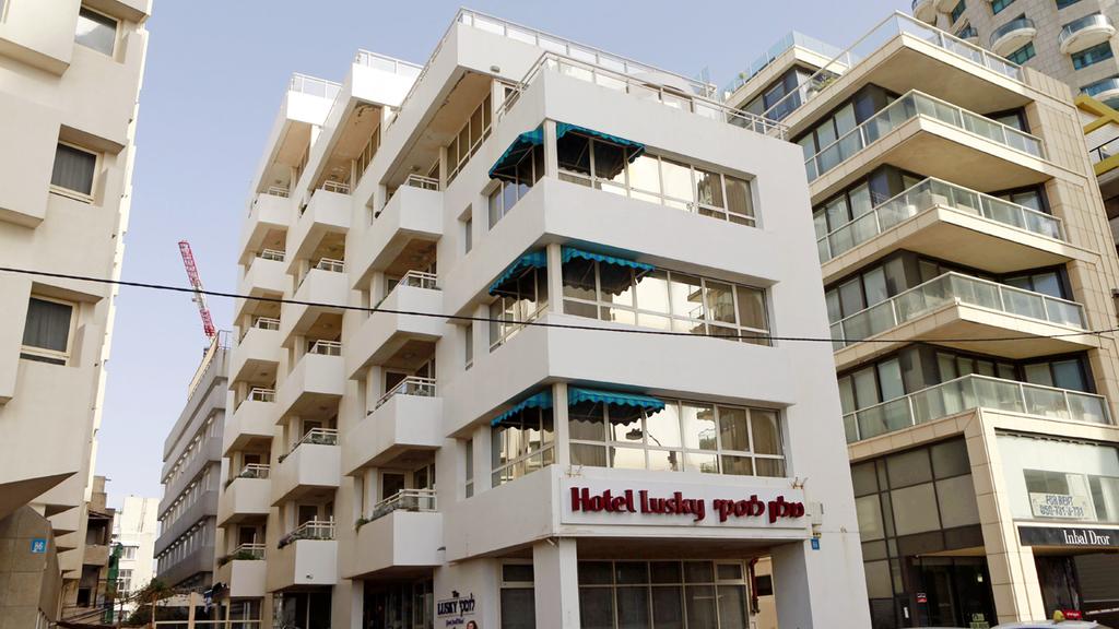 מלון לוסקי רחוב הירקון תל אביב בבעלות רמי לוי