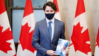 ראש ממשלת קנדה ג'סטין טרודו מציג את התקציב, צילום: רויטרס