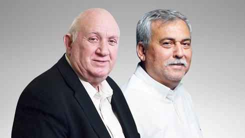 מימין: נחום ביתן ו איציק אברכהן , צילום: עמית שעל, אביגיל עוזי