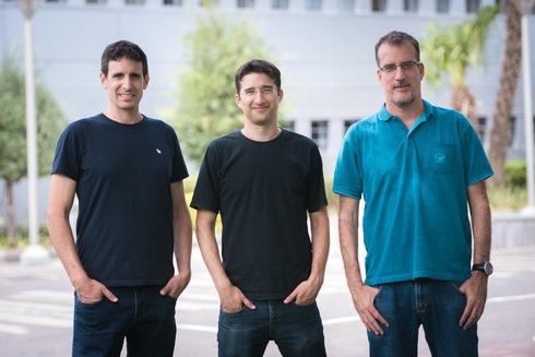 מייסדי DataRails. מימין: עודד הר טל, אייל כהן ודידי גורפינקל , DataRails