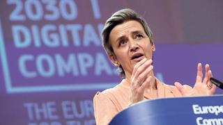 נציבת התחרותיות של האיחוד האירופי, מרגרט וסטאגר, צילום: איי פי