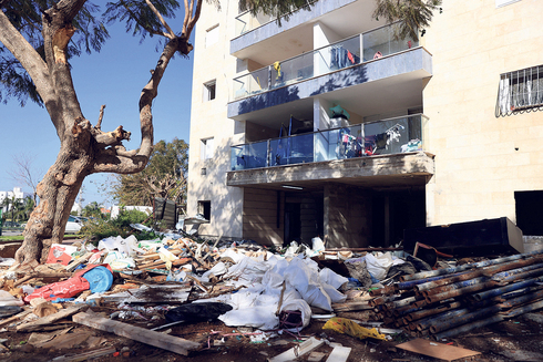 """פרויקט התמ""""א ברחוב בן צבי בנתניה, צילום: אוראל כהן"""