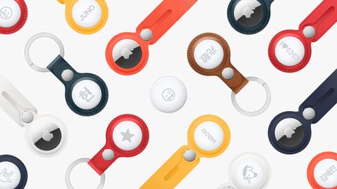 אפל itag, תגיות שמיועדות להצמדה לחפצים, אפל