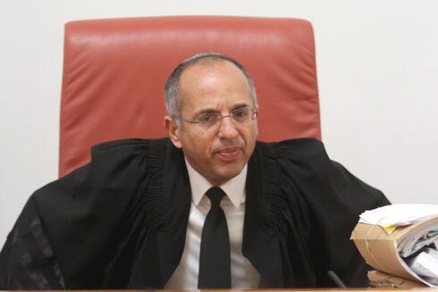 """שופט ביהמ""""ש העליון נעם סולברג , צילום: אלכס קולומויסקי"""