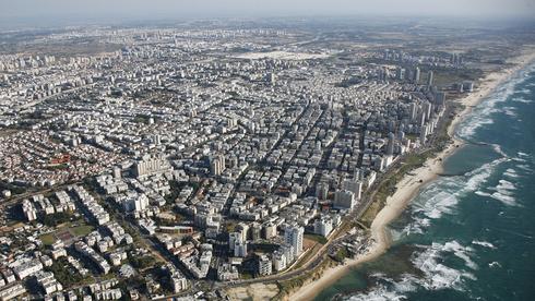 בת ים. הרובע החדש יוסיף 26 אלף תושבים, צילום: אילן ארד