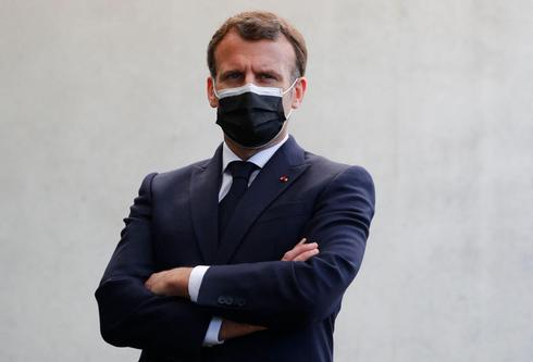 נשיא צרפת עמנואל מקרון. חשש מהיווצרות אזורי רפאים, צילום: איי אף פי