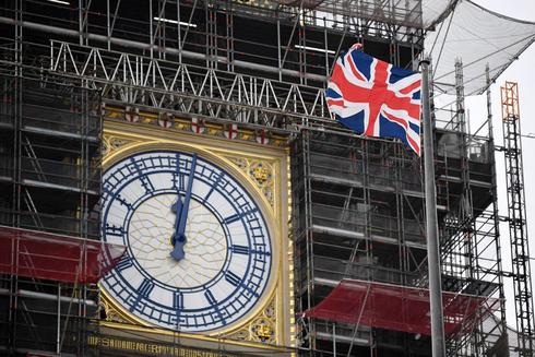הביג בן  בלונדון בשיפוצים, צילום: איי אף פי