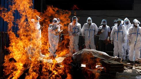 שריפת גופות בהודו, רויטרס