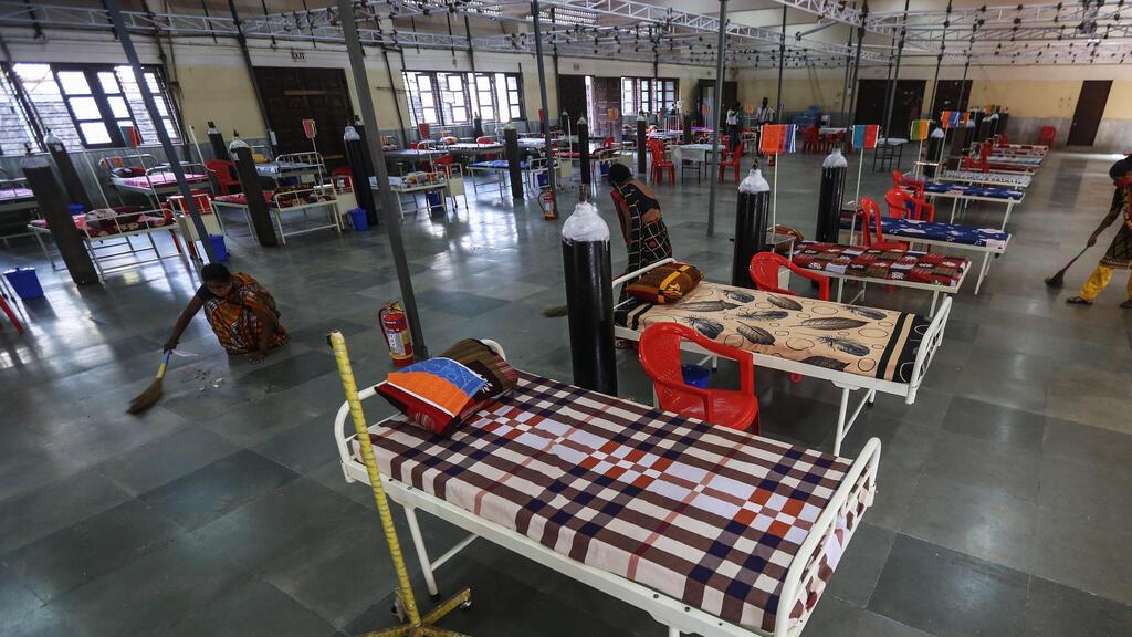 הודו ניו דלהי נערכים לקלוט חולי קורונה הווריינט ההודי