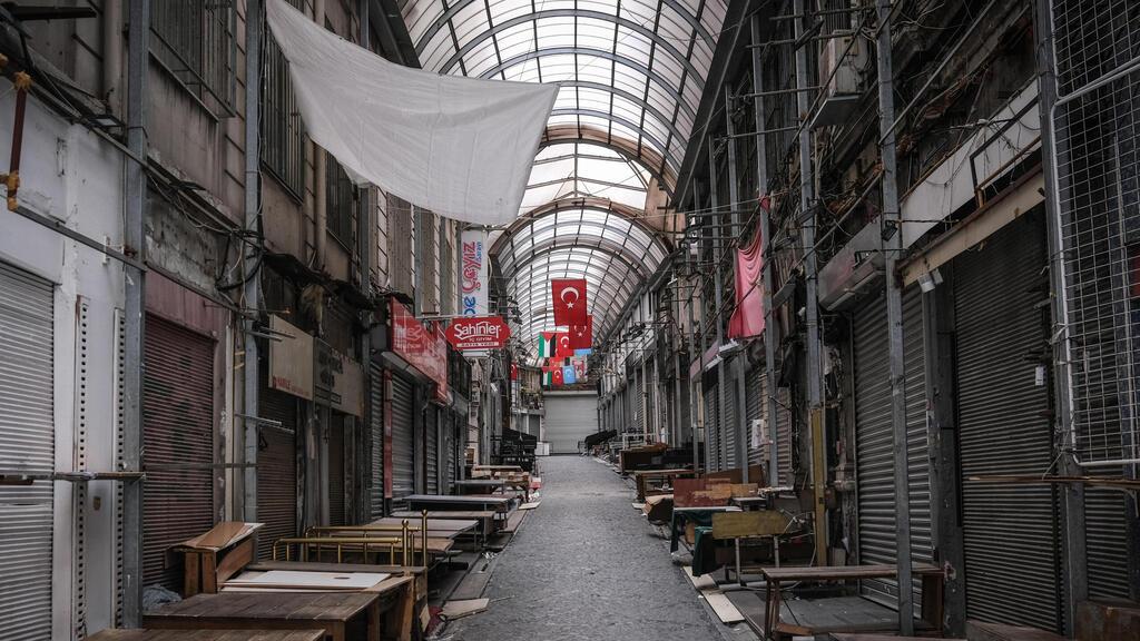 טורקיה: הממשלה הכריזה על סגר הרמטי החל מיום חמישי