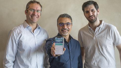 מייסדי זנגה אוריאל אוחיון, טל בארי ועומר שלומוביץ, Kzen networks Ltd