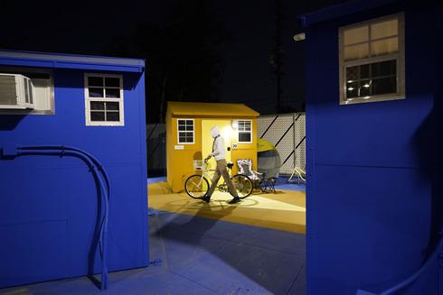 כפר הומלסים, פארק אלכסנדריה, לוס אנג