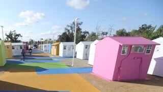 כפר הומלסים פארק אלכסנדריה לוס אנג'לס 1, בלומברג