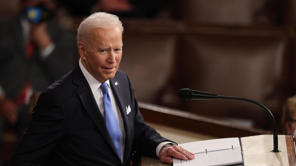 ג'ו ביידן נאום ראשון בקונגרס כנשיא 29.4.21