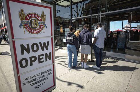 """כלכלת ארה""""ב נפתחת רציף הדייגים בסן פרנסיסקו, בלומברג"""