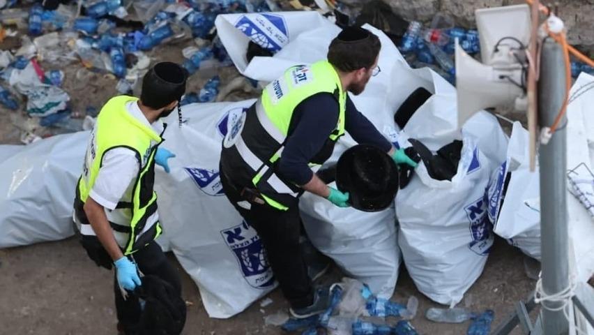 לפחות 44 הרוגים ויותר מ-100 פצועים בהילולה בהר מירון