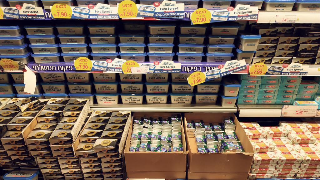 שוק החמאה נפתח ליבוא, המחירים לצרכן זינקו