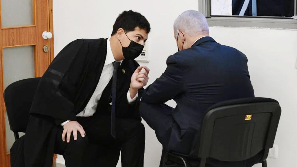 מימין בנימין נתניהו ראש הממשלה עמית חדד עורך דין 2.5.21