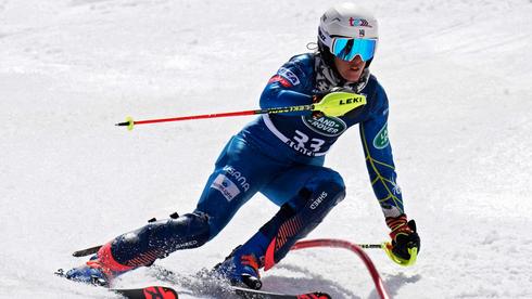 """אליפות ארה""""ב בסקי, בחודש שעבר.  ספורט החורף יצטמצם מאוד, צילום: איי פי"""
