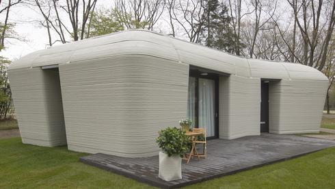 לראשונה באירופה: בני זוג עברו להתגורר בבית שהודפס בתלת ממד