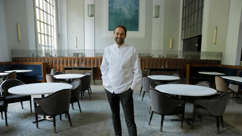 שף דניאל האם מסעדה אילוון מדיסון פארק ניו יורק Eleven