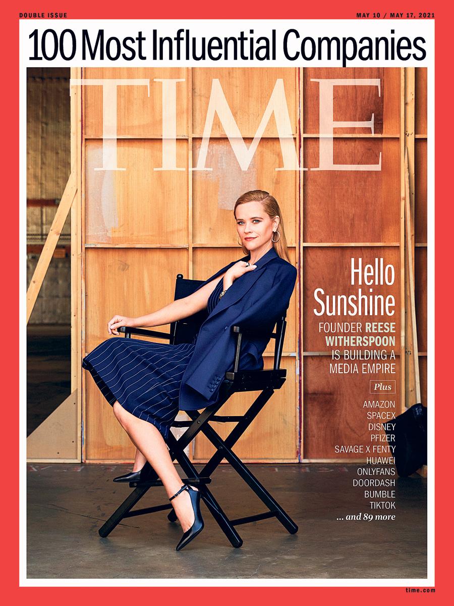 פנאי ריס וית'רספון על שער מגזין טיים