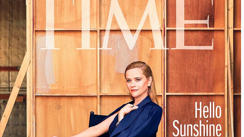 ריס וית'רספון על שער מגזין טיים, צילום: TIME MEGAZIN