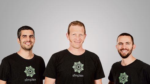 מימין: ארז שפירא, נמרוד להבי ונתנאל קבלה, מייסדי סימפלקס