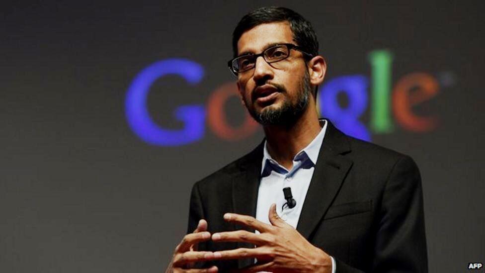 """מנכ""""ל גוגל סנדר פיצ'אי Sundar Pichai"""