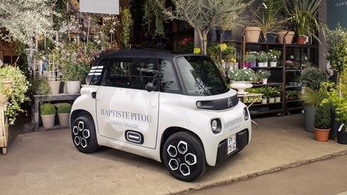 ה-AMI החשמלית. קטנה במיוחד ומיועדת למשלוחים במרכזי ערים צפופים, צילום: יצרן