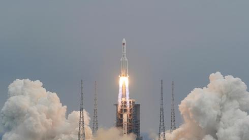 הטיל הסיני שיצא משליטה התרסק באוקיינוס ההודי