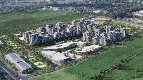 גינדי החזקות רכשה קרקע ל-984 דירות בקריית מלאכי ב-320 מיליון שקל