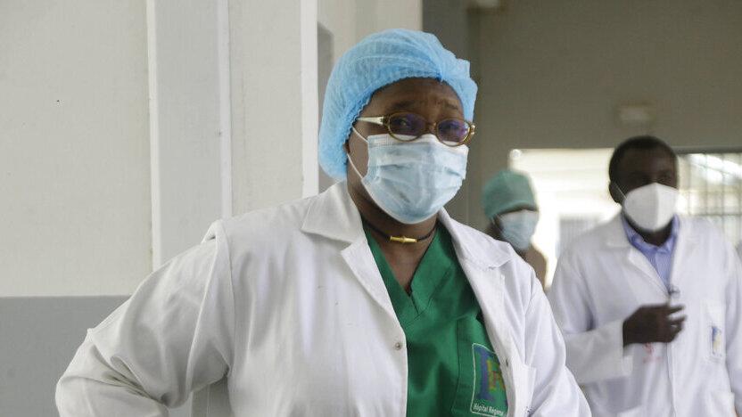 צ'אד בית חולים אפריקה קורונה חיסונים 4