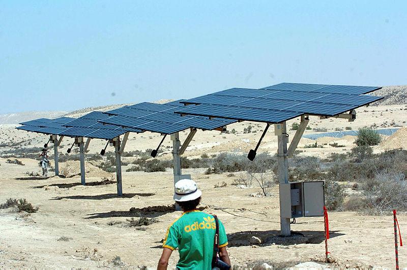 חוות טנא ליד שדה בוקר אנרגיה סולארית