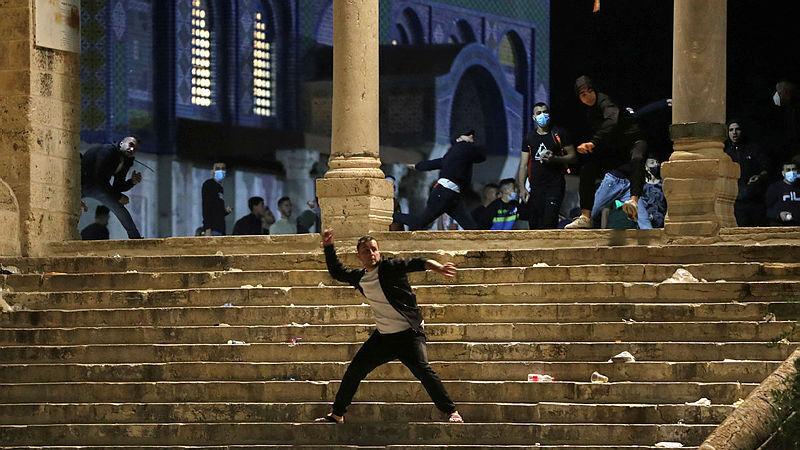 ירושלים מסגד אל אקצא 7.5.21