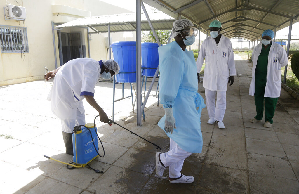 צ'אד בית חולים אפריקה קורונה חיסונים