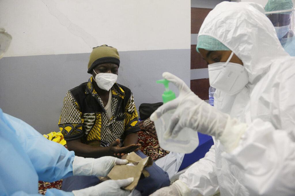 צ'אד אפריקה מדינות ללא חיסוני קורונה1