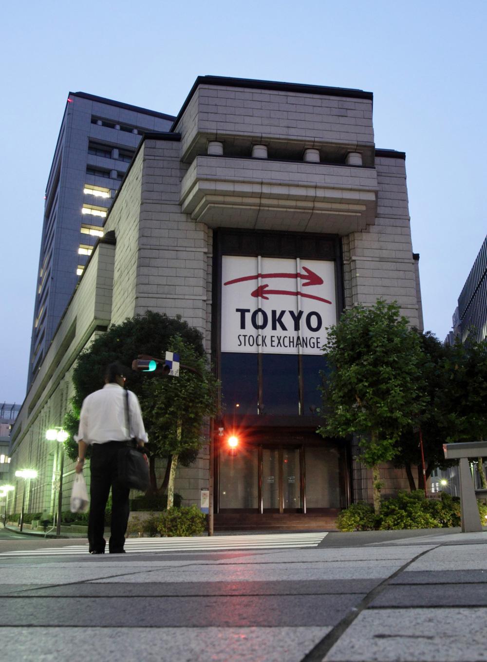בורסת טוקיו בורסות באסיה בורסות בעולם שוק ההון