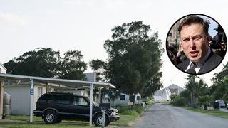בוקה צ'יקה טקסס עיירה אלון מאסק ספייס איקס SpaceX, צילום: בלומברג, רויטרס