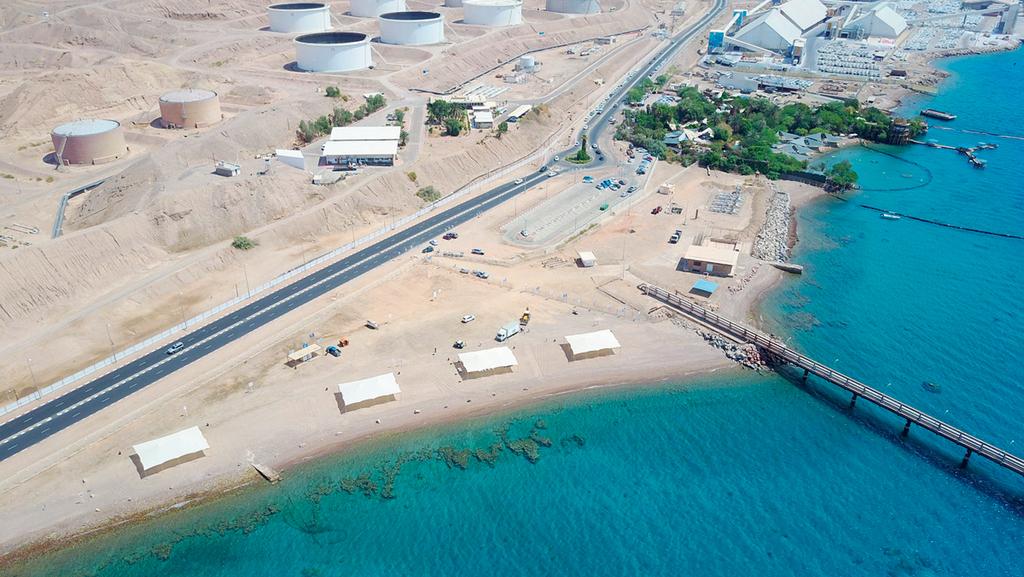 """חוף קצא""""א באילת, צילום: יאיר שגיא"""