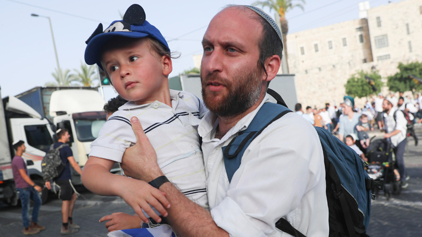 אזעקות בירושלים ירי רקטות מעזה