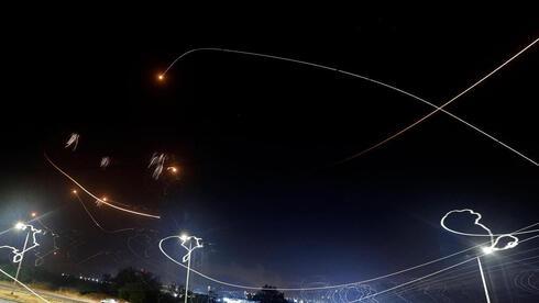 ירוט רקטות אשקלון, AFP