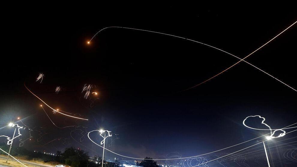 ירוט רקטות אשקלון