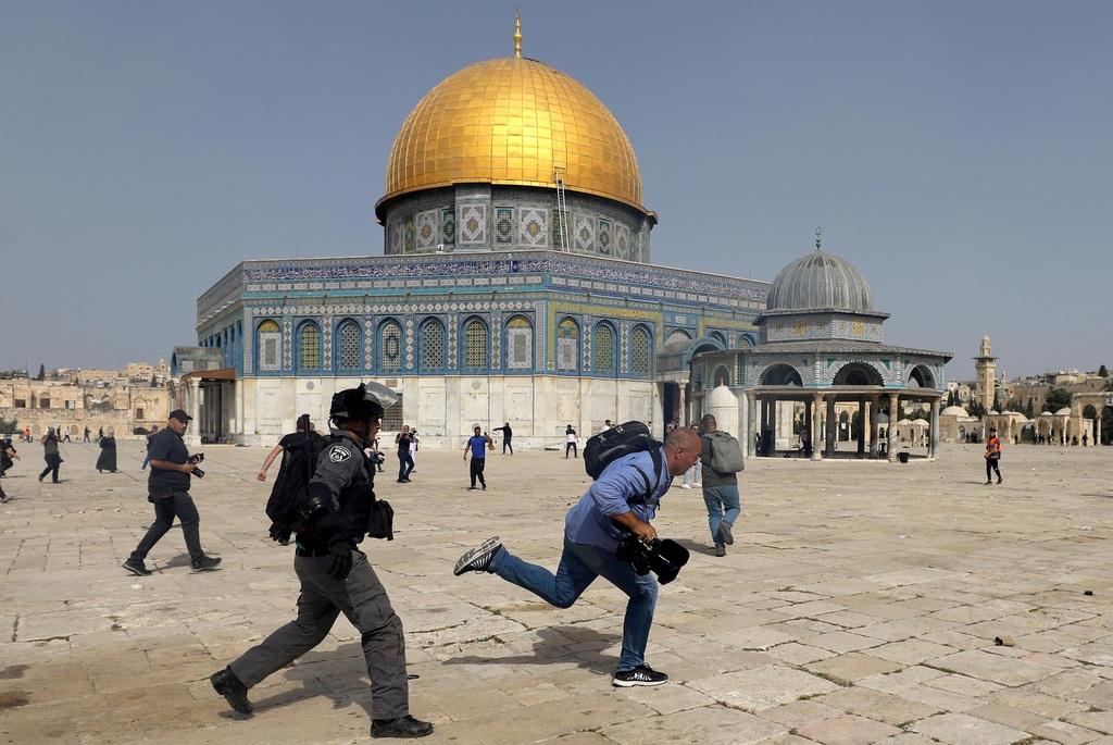 מהומות הר הבית ירושלים 10.5