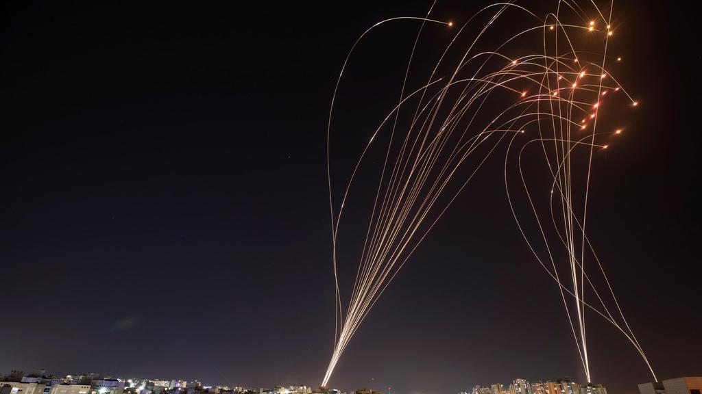 יירוט כיפת ברזל רקטה רקטות רצועת עזה